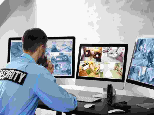 CCTV Surveillance Room